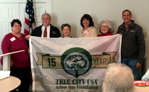 Social Circle is presented with a Tree USA Flag