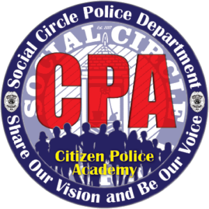 Social Circle Police Department Citizen Police Academy - Share Our Vision and Be Our Voice