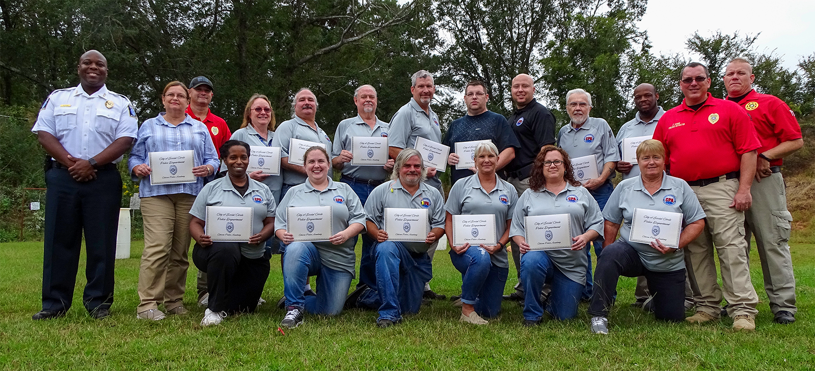 Citizen Police Academy Graduation