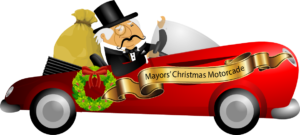 Mayors Christmas Motorcade