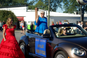 Grand Marshall Billie Van Dyke