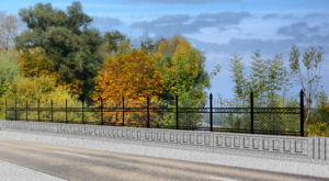 Artist rendering of the new South Cherokee bridge